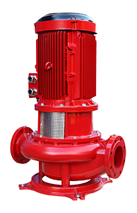 Vertical Shaft Line Type (In-Line) Coaxial Fire Pumps